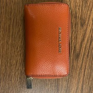 Michael Kors Small Leather Pebbled Wallet